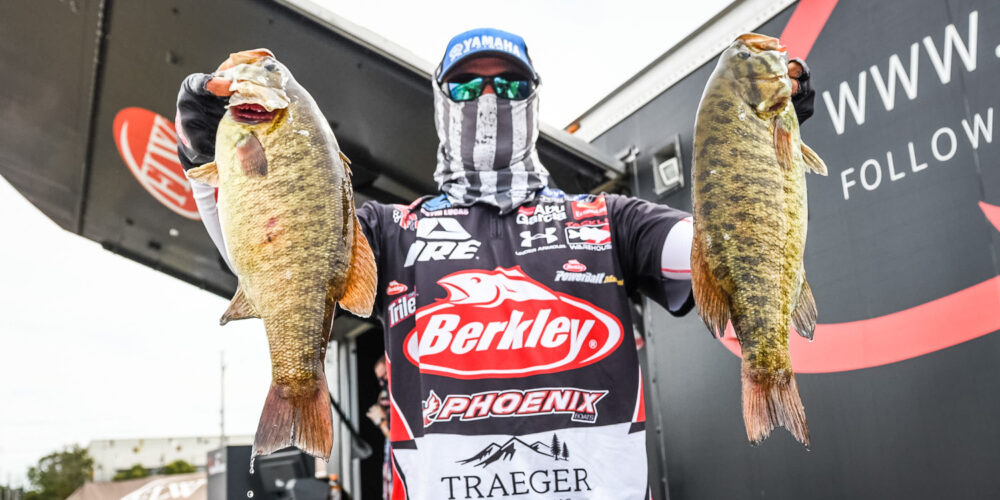 Image for Lucas Lays Claim to Lead on Day 2 on Lake Erie