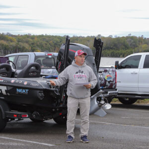 Pete Hedgepath, coach of the Campbellsville University Bass Team. Photo by Danielle Roy.