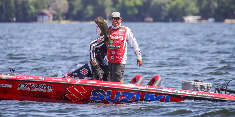 Image for Dean Rojas' Timing Tips for Winter Largemouth, Smallmouth and Spotted Bass