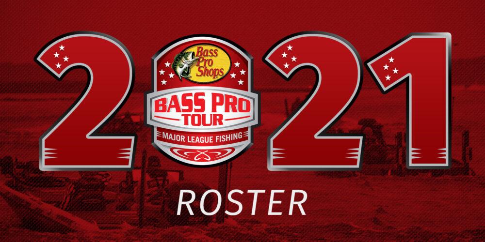 Image for Major League Fishing Unveils 2021 Bass Pro Tour Roster