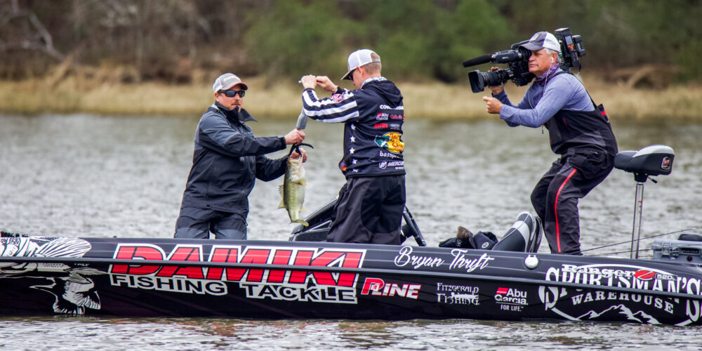 """Image for Thrift Prepares for Cooling-Water Window with """"Best Topwater Fishing of the Year"""""""