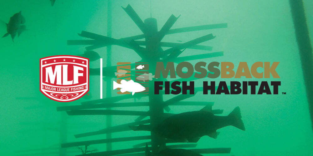 Image for MossBack Fish Habitat Partners with Major League Fishing