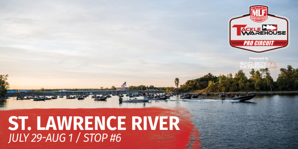 Image for 2021 Tackle Warehouse Pro Circuit St. Lawrence River Preview