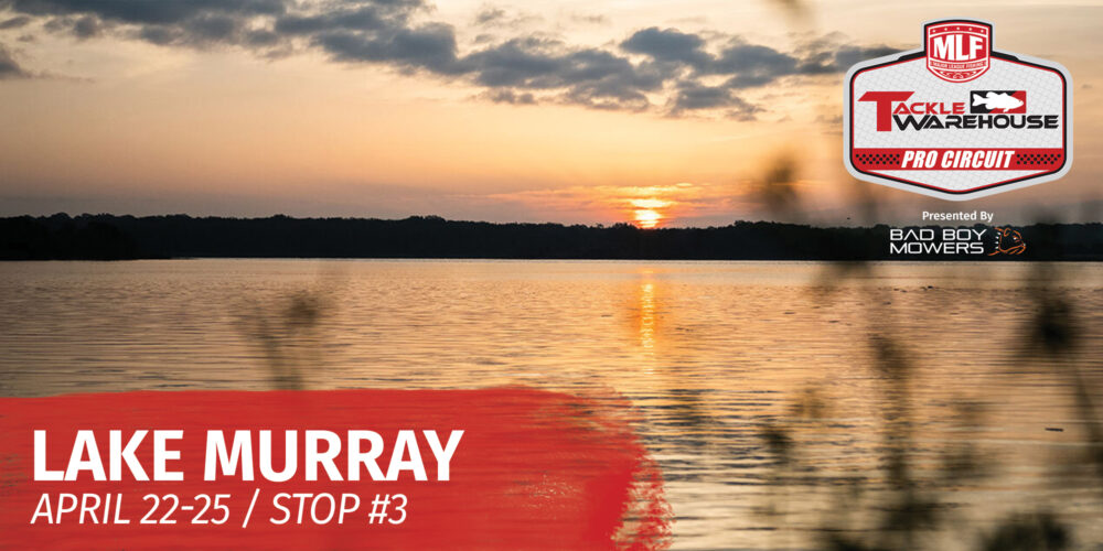 Image for 2021 Tackle Warehouse Pro Circuit Lake Murray Preview