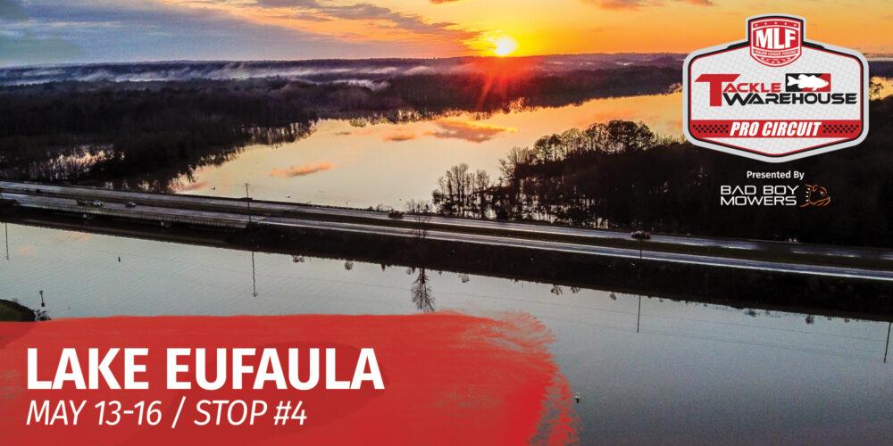 Image for Lake Eufaula Set to Host Tackle Warehouse Pro Circuit – Grundéns Stop 4 Presented by A.R.E at Lake Eufaula
