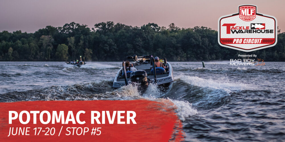 Image for 2021 Tackle Warehouse Pro Circuit Potomac River Preview