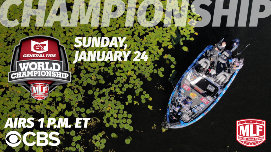 Image for MLF General Tire World Championship Presented by Bass Pro Shops to Air Sunday on CBS