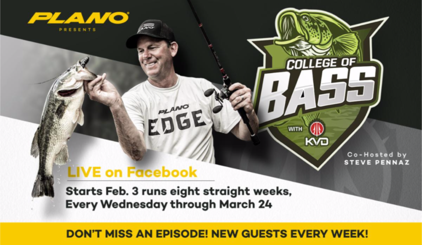 Image for The College of Bass Offers a Crash Course in Catching