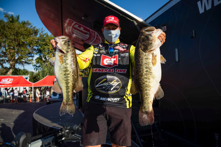 Image for GALLERY: Tackle Warehouse Pro Circuit, Lake Okeechobee, Day 2 Weigh-In