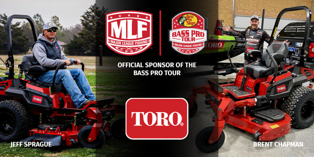 Image for Toro and Major League Fishing Announce Sponsorship Agreement