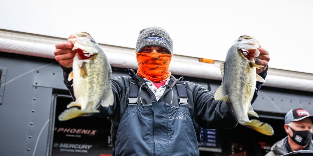 Image for Washam Takes 5-Pound Lead Into Final Day on Lake Guntersville