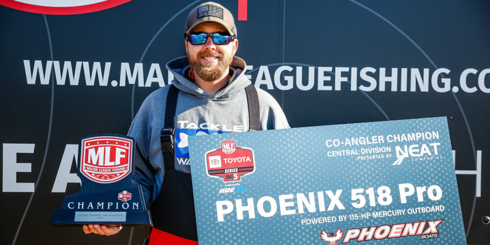 Image for Franks Takes Strike King Co-Angler Title on Guntersville