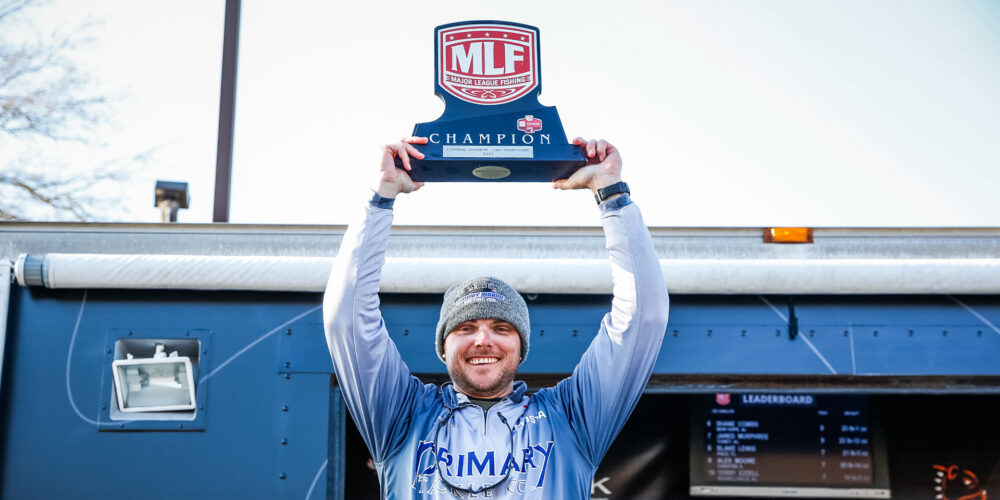Image for Washam Goes Wire-to-Wire, Wins Toyota Series Event on  Lake Guntersville presented by Googan Baits
