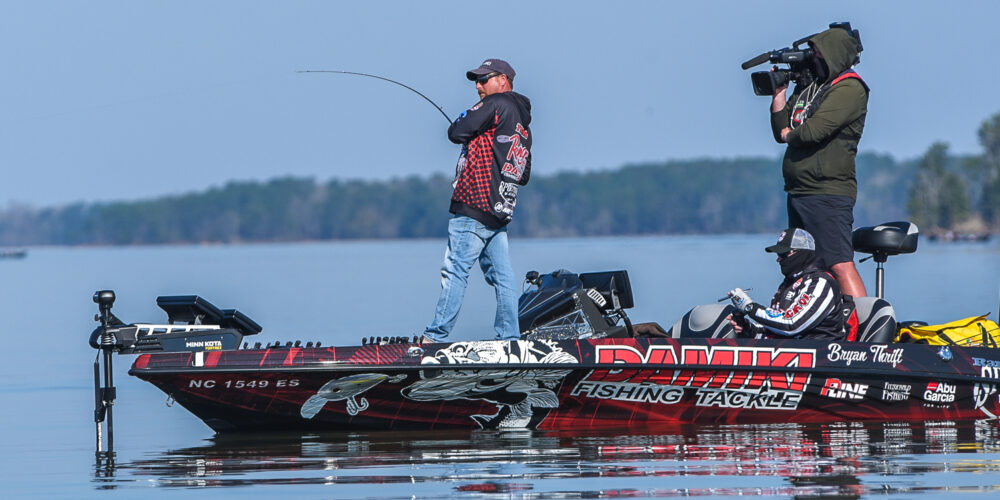 Image for MIDDAY REPORT: Thrift Attacking All Angles on Lake Eufaula