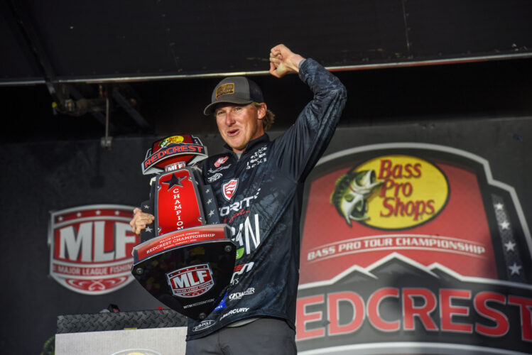 Image for Dustin Connell Wins REDCREST 2021 Presented by Old Wisconsin Sausage on Lake Eufaula