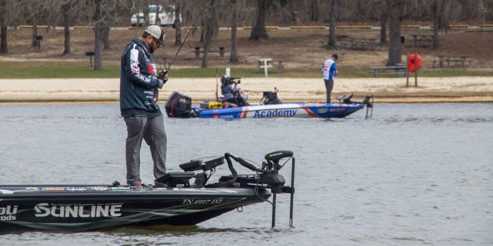 Image for REDCREST Patterns: Forward-Facing Sonar, Reaction Baits Dominated Final Round on Lake Eufaula