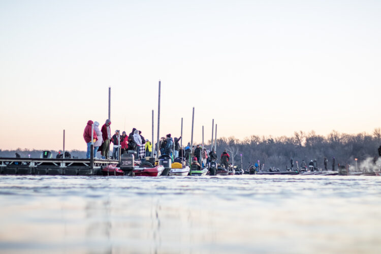 Image for GALLERY: Abu Garcia College Fishing National Championship, Day 1 Takeoff