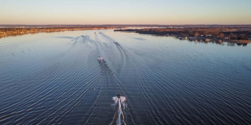 Image for Improving Weather Gives Hope for the College Fishing National Championship on Grand Lake