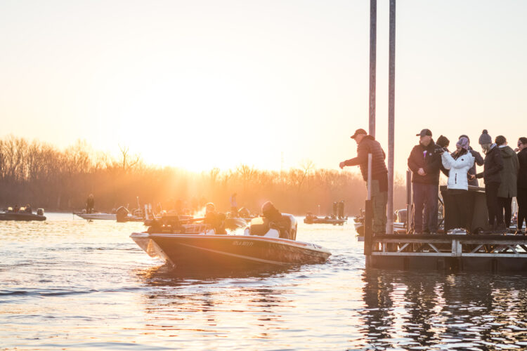 Image for GALLERY: Abu Garcia College Fishing National Championship, Day 2 Takeoff