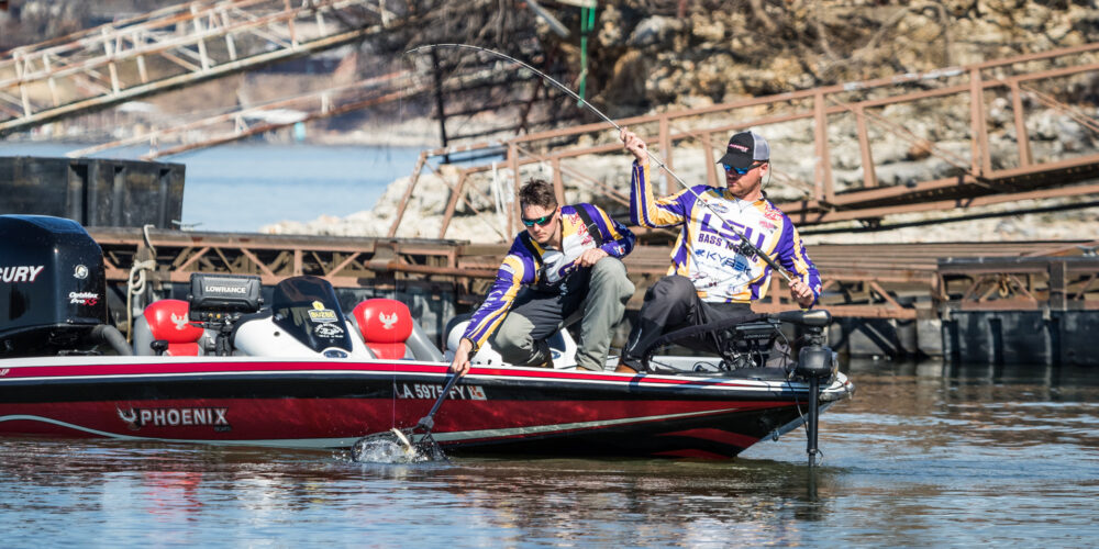 Image for College Fishing National Championship Midday Update – Day 2