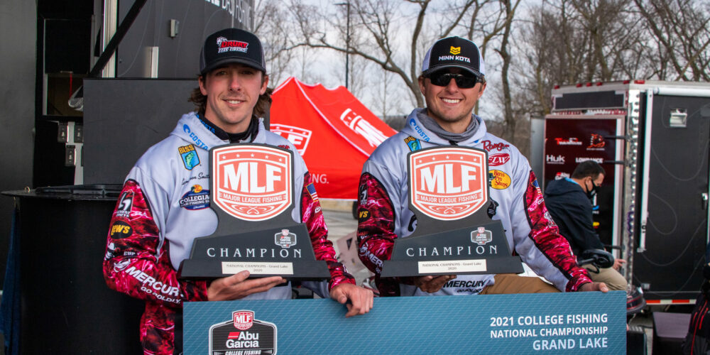 Image for Drury's Breeden and Smith Win College Fishing National Championship