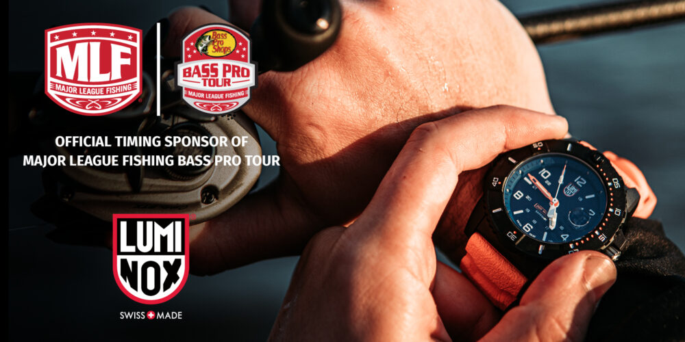 Image for Luminox Announces Partnership With Major League Fishing To Become Official Timing Sponsor