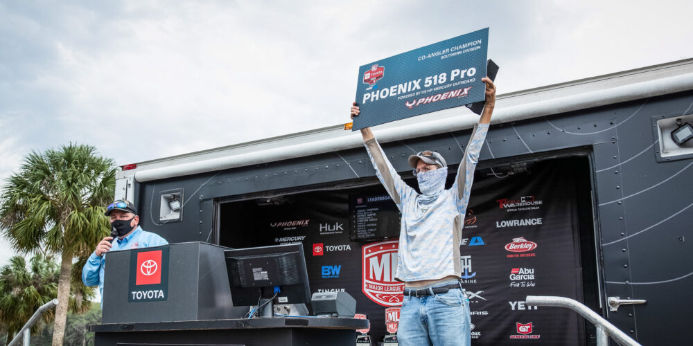 Image for Stahl Wins Strike King Co-Angler Division at the Harris Chain