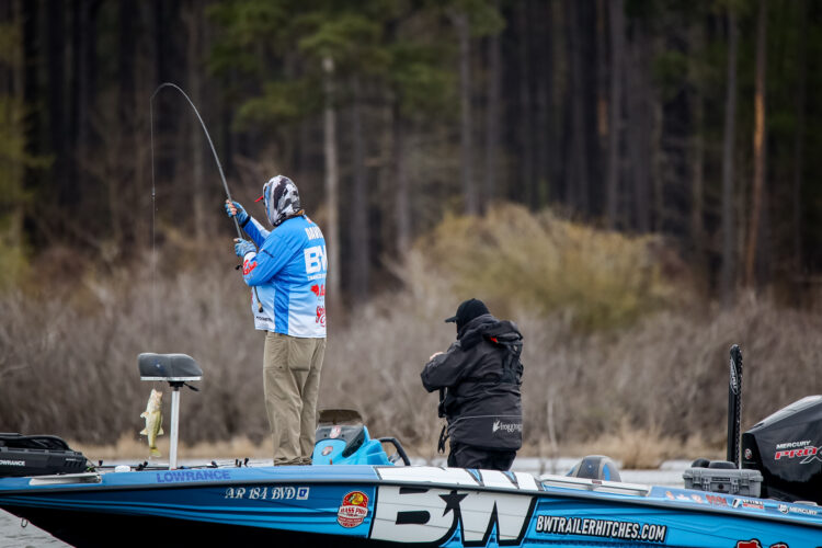 Image for Davis Leads Qualifying Group B of Major League Fishing's Toro Stage One at Sam Rayburn Reservoir Presented by Power-Pole