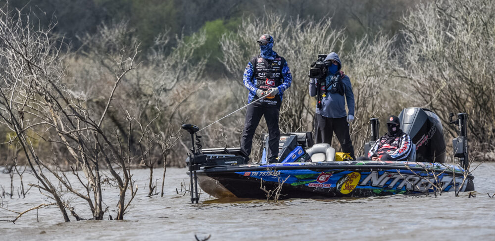 Image for DeFoe Cruises to Win Qualifying Group A of Major League Fishing's Toro Stage One at Sam Rayburn Reservoir Presented by Power-Pole