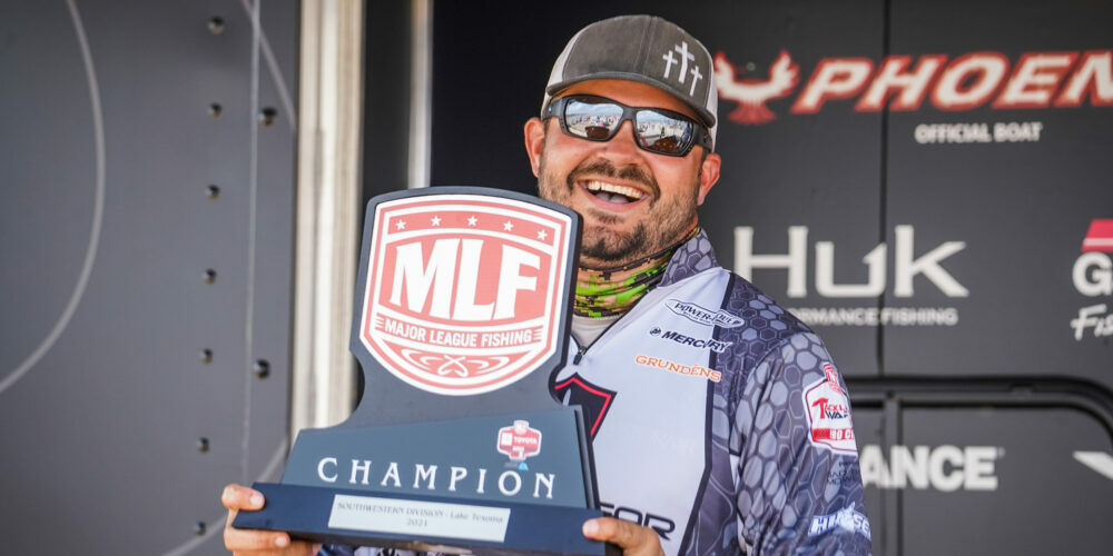 Image for Arkansas' Barnes Wins Toyota Series Event on Lake Texoma Presented by Abu Garcia