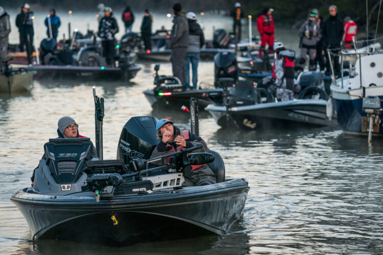 Image for GALLERY: Abu Garcia College Fishing Open, Day 1 Takeoff