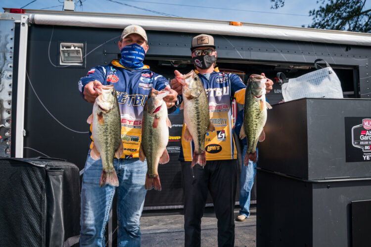 Image for GALLERY: Abu Garcia College Fishing Open, Day 1 Weigh-In