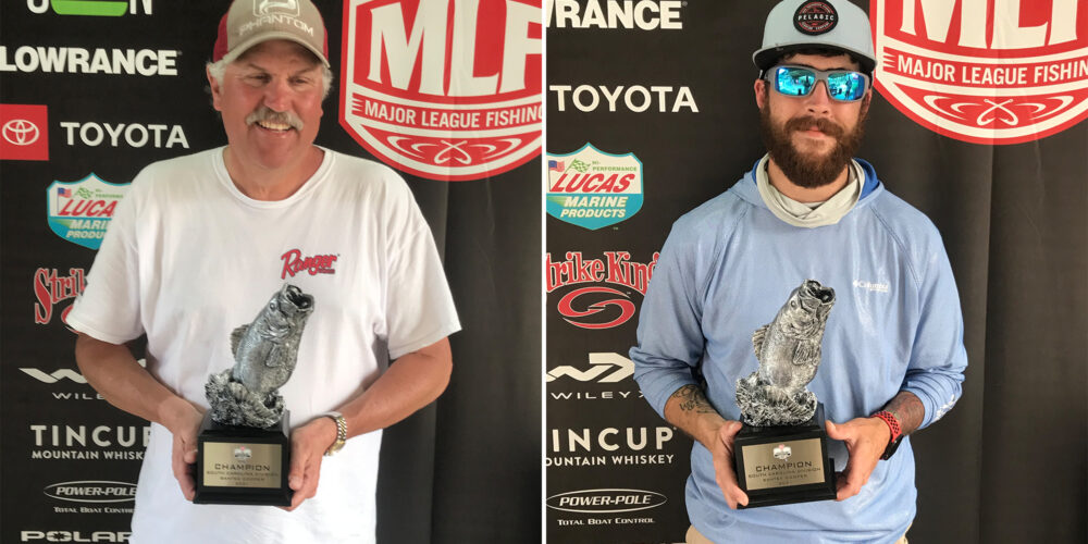 Image for Elloree's Howard Wins Phoenix Bass Fishing League on Santee Cooper Presented by Googan Baits