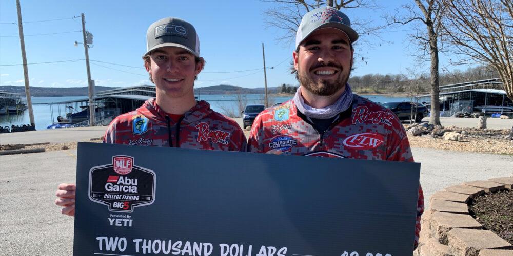 Image for Southern Illinois University Wins Abu Garcia College Fishing Tournament on Table Rock Lake