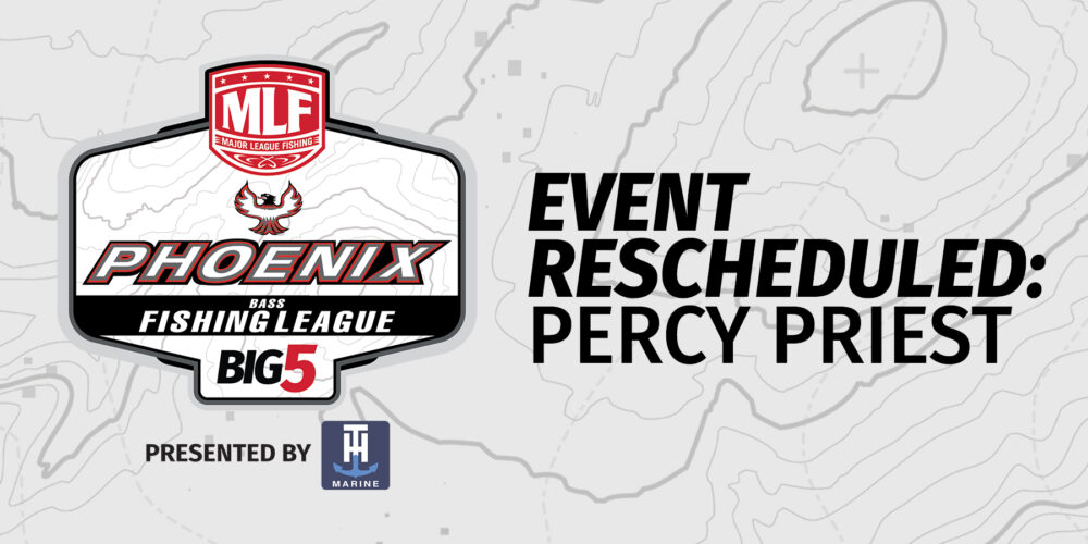 Image for MLF Cancels Phoenix Bass Fishing League Event on Percy Priest Lake Presented By Googan Baits Due To High Water Levels