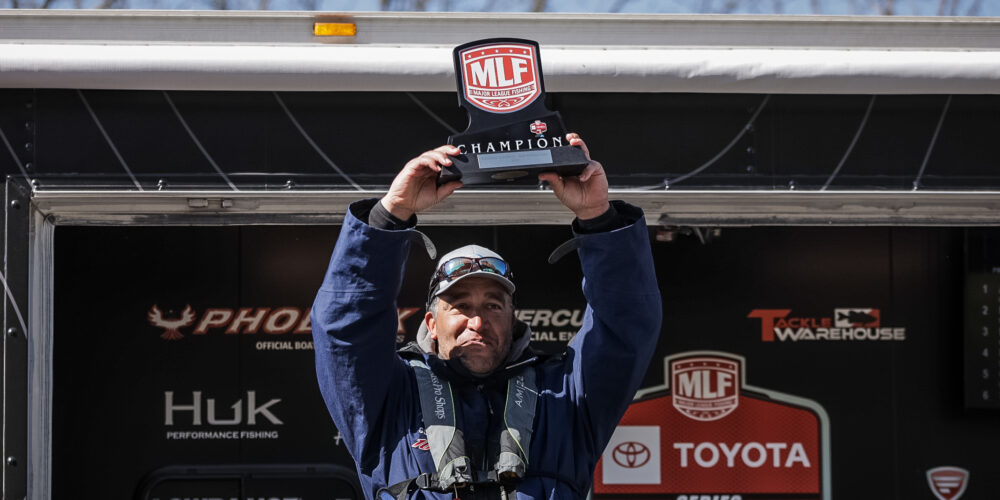 Image for McNeal Wins First-Ever Tournament with Biggest 1-Day Co-Angler Bag at Dale Hollow