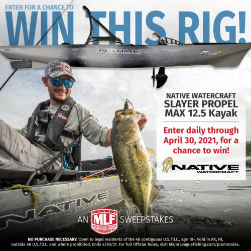 Image for Native Watercraft Partners with Major League Fishing to Give Fans Chance to Win Fishing Kayak