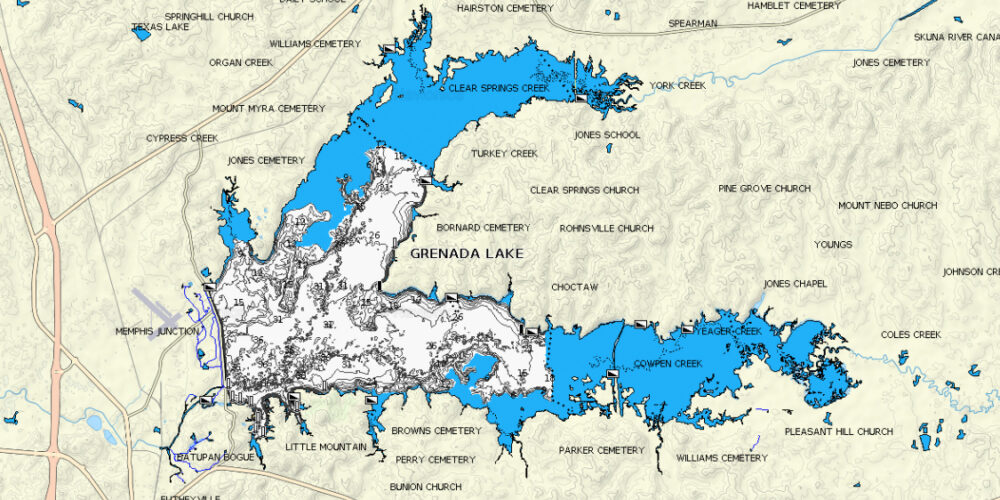 Image for Mississippi Division Continues at Grenada Lake