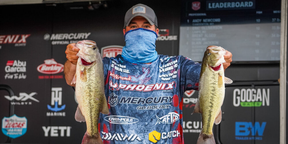Image for Newcomb Moves Ahead on Day 2 at Grand Lake