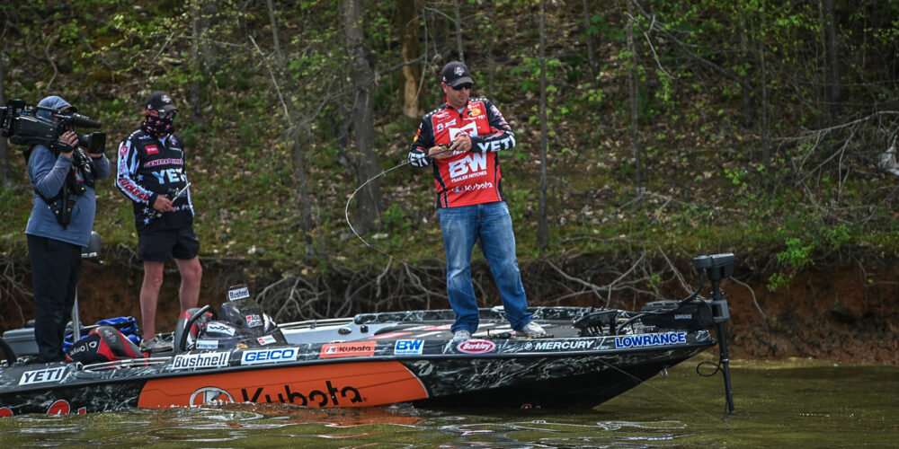 Image for Top Patterns on Falls Lake – Group B Finds Success on Multiple Baits