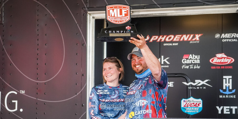 Image for Newcomb Holds on to Win at Grand Lake