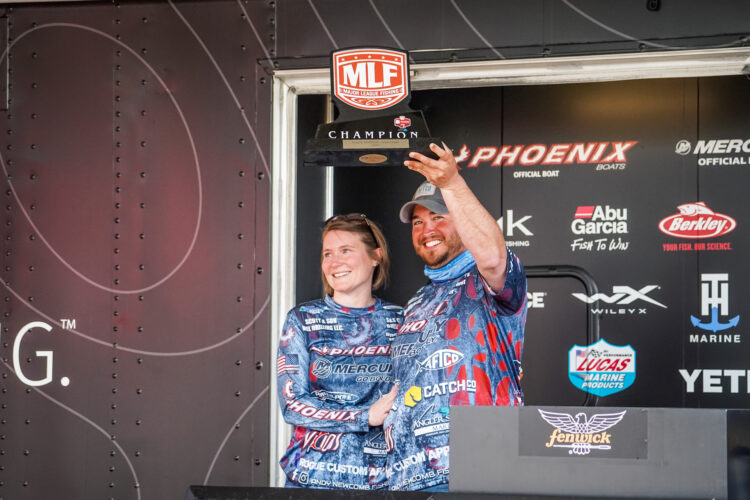 Image for Newcomb Wins Toyota Series Event on Grand Lake Presented by Fenwick