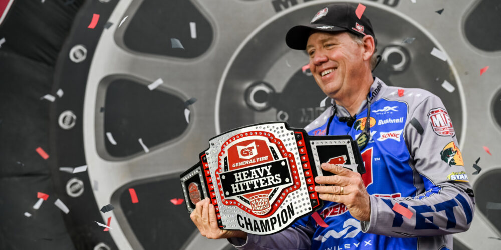 Image for Jones Puts on a Sight-Fishing Clinic for Heavy Hitters Win; Sprague Lands $100,000 Big Bass