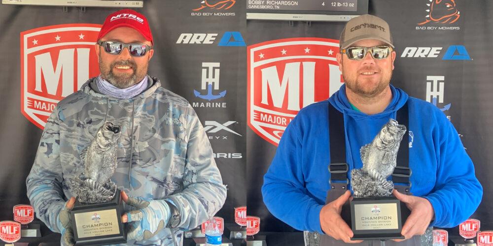 Image for Monterey's Bowman Wins Phoenix Bass Fishing League on Dale Hollow Lake