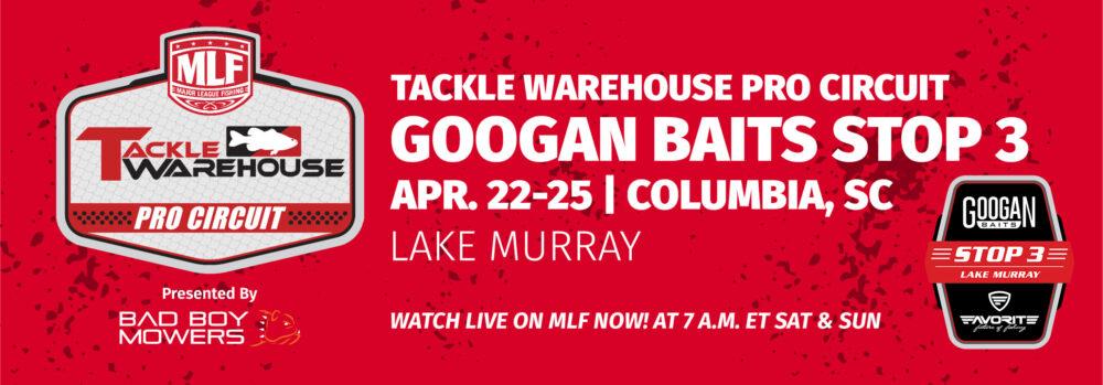 Googan Baits Stop 3 Lake Murray Presented by Favorite Fishing