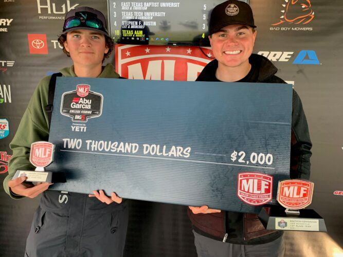 Image for Texas A&M Wins Abu Garcia College Fishing Tournament on Lake Somerville