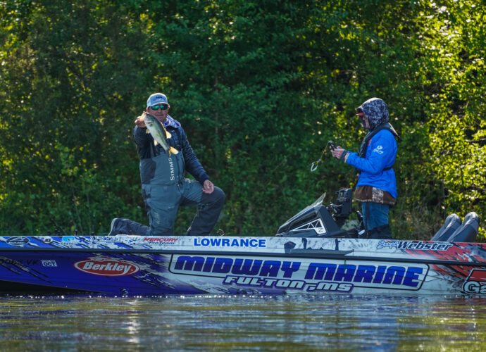 Image for GALLERY: Tackle Warehouse Pro Circuit, Lake Murray, Day 1 Morning