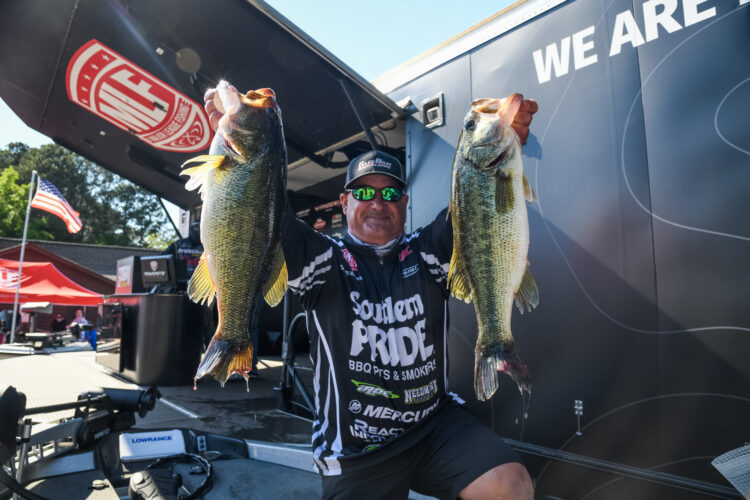 Image for GALLERY: Tackle Warehouse Pro Circuit, Lake Murray, Day 1 Weigh-in