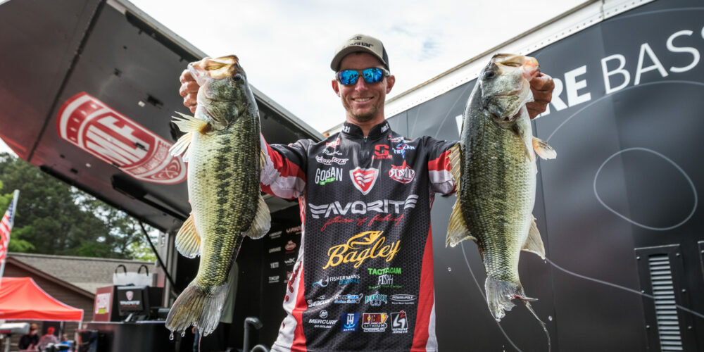 Image for Pennsylvania's Becker Moves Ahead on Day 2 of Tackle Warehouse Pro Circuit Googan Baits Stop 3 at Lake Murray