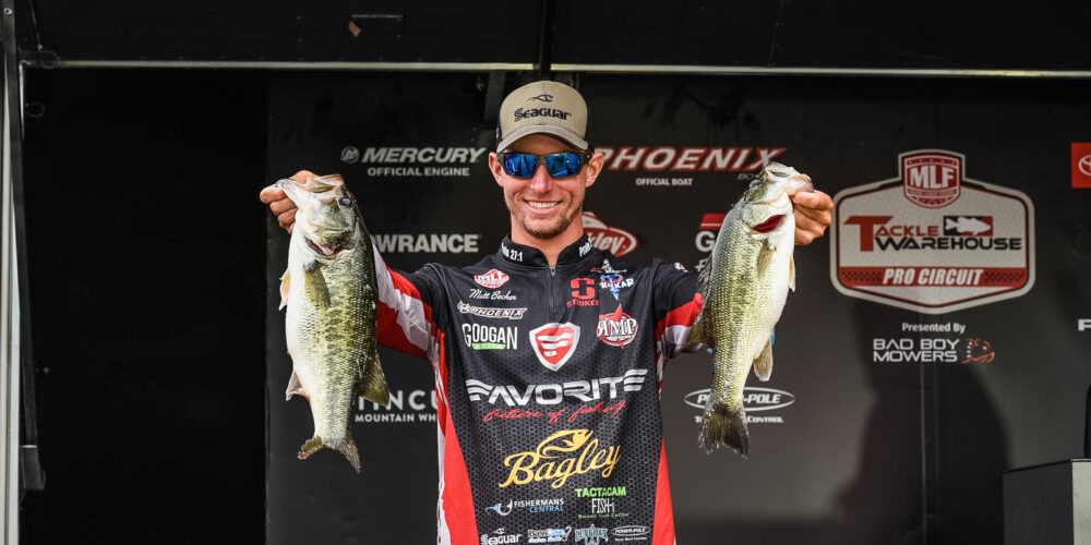 Image for Becker Pads His Lead Heading into the Final Day at Lake Murray